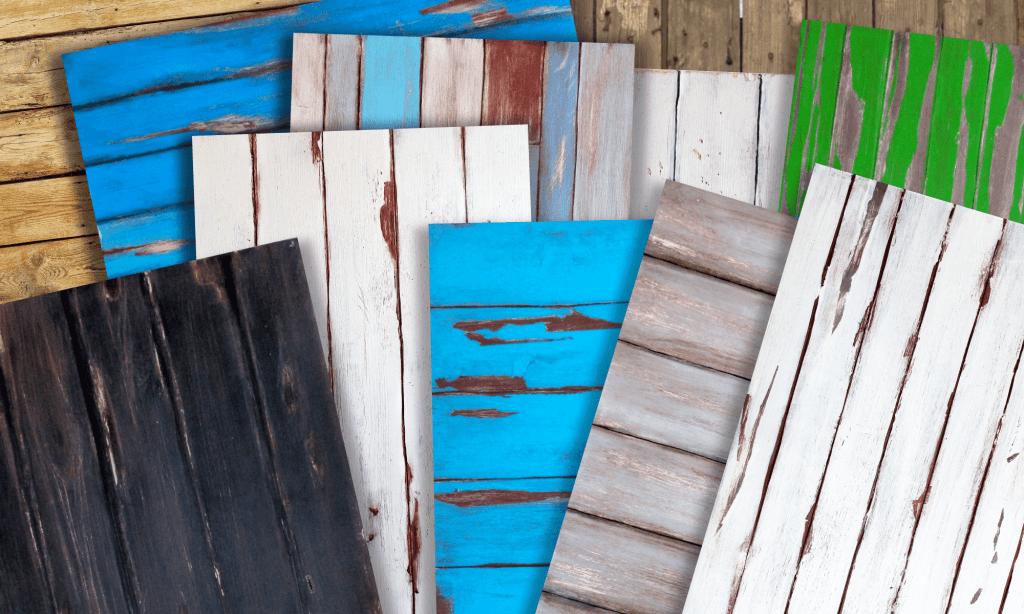 pannelli di legno rustic shabby chic